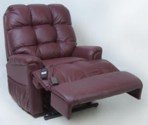 Leather Lift Chairs - 1-800-798-2499