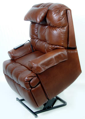Top Grain Full Leather Lift Chairs